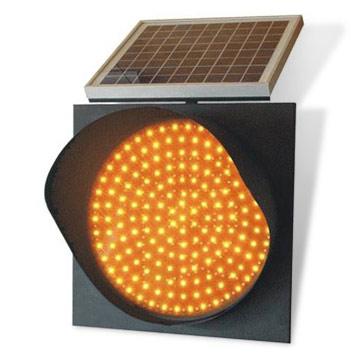 Đèn giao thông năng lượng mặt trời
