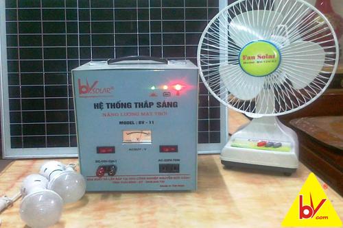 bộ máy phát điện năng lượng mặt trời bv11