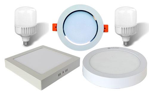 Phân phối đèn LED tại Thái Bình