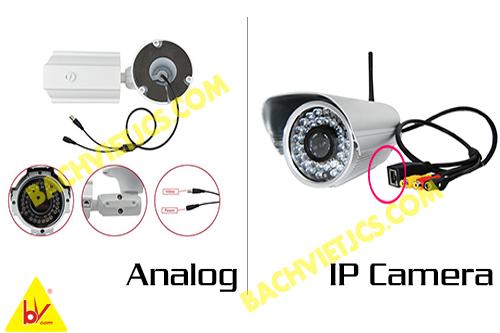so sánh giữa camera ip và camera analog