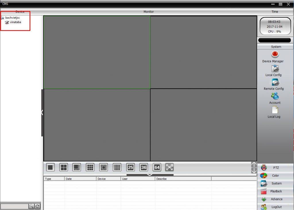 cms camera hướng dẫn cài đặt