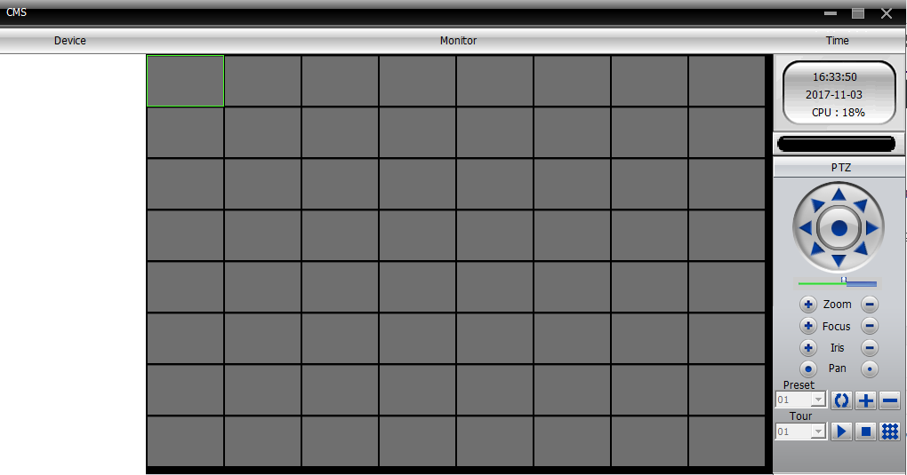 giao diện sau khi login phần mềm cms