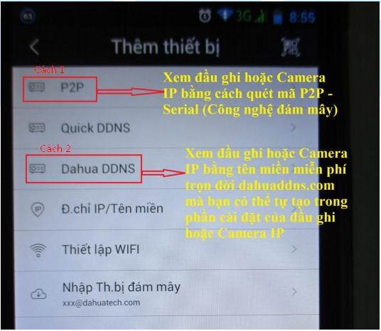 hướng dẫn cài đặt camera Dahua xem trên điện thoại máy tính 20