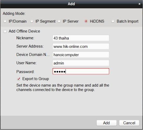 hướng dẫn phần mềm xem camera hikvision4