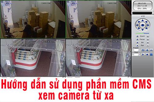 CMS Camera: Hướng dẫn cài đặt và sử dụng