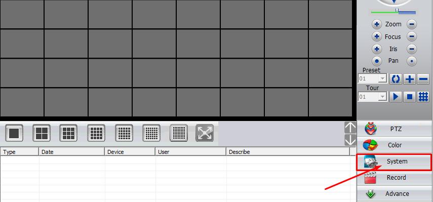 login phần mềm cms camera 1