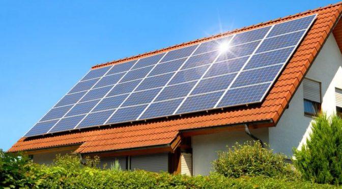 ứng dụng điện năng lượng mặt trời