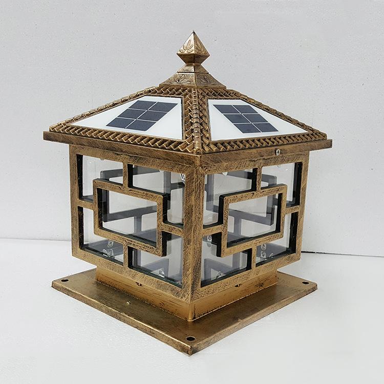 Đèn trụ cổng năng lượng ZX01
