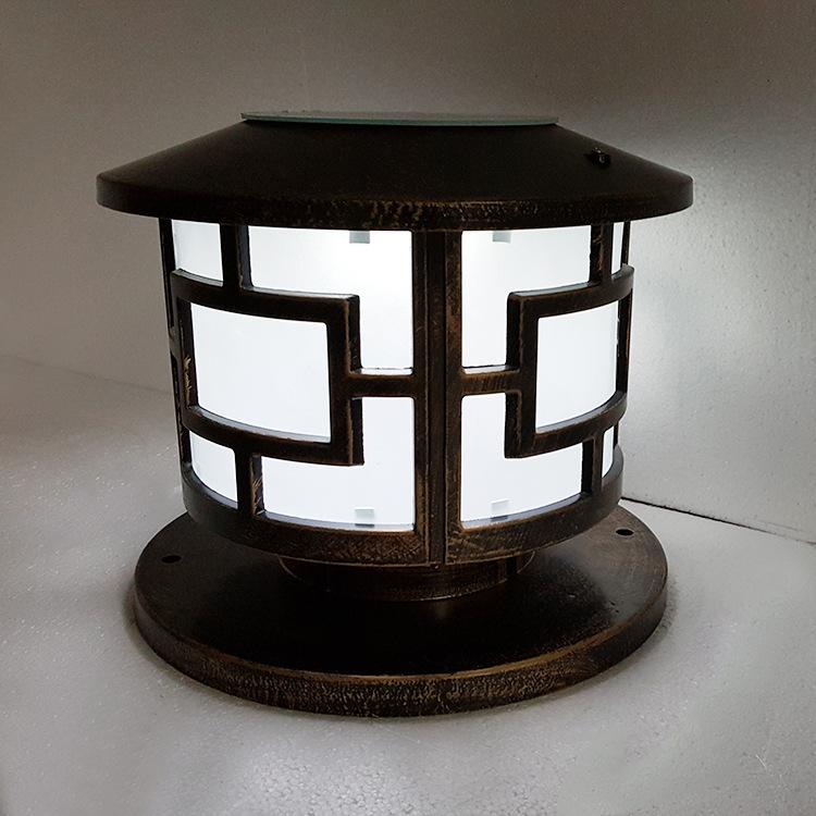 Đèn trụ cổng năng lượng ZX02