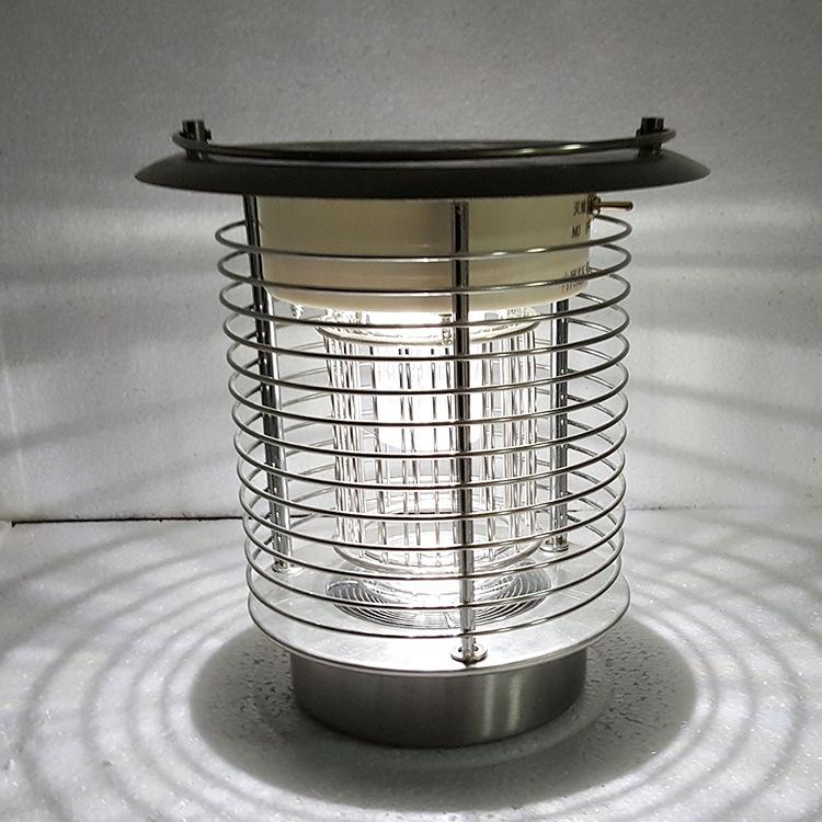 Đèn trụ cổng năng lượng ZX04
