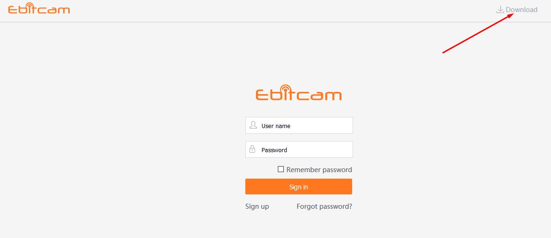 hướng dẫn cài đặt phần mềm ebitcam