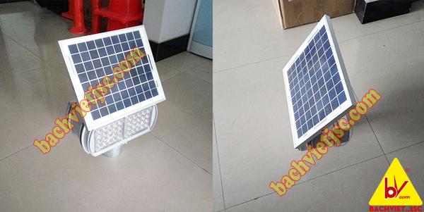 đèn nhấp nháy xây dựng đường năng lượng mặt trời