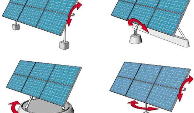 bộ điều khiển quay tự động năng lượng mặt trời