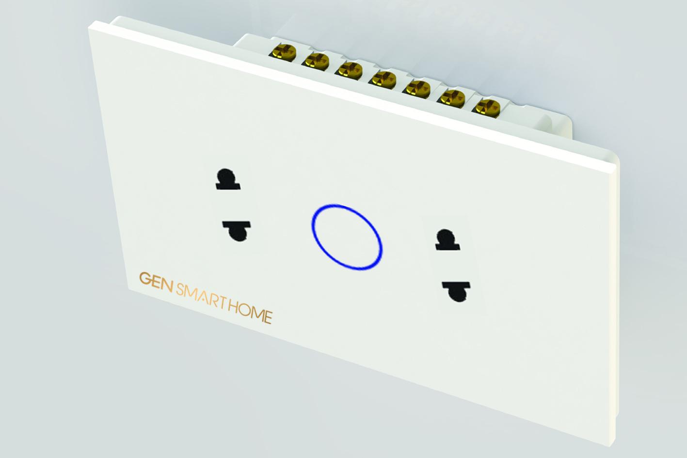 Ổ cắm điện cảm ứng Wifi Gen SmartHome