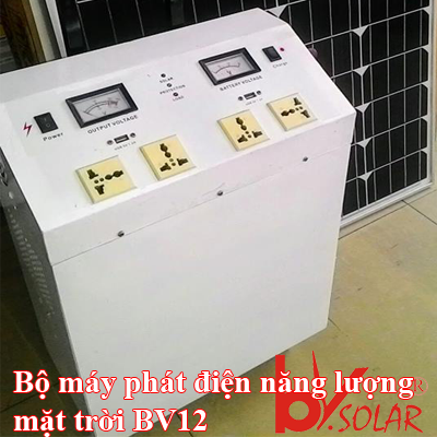 Bộ máy phát điện mặt trời BV12
