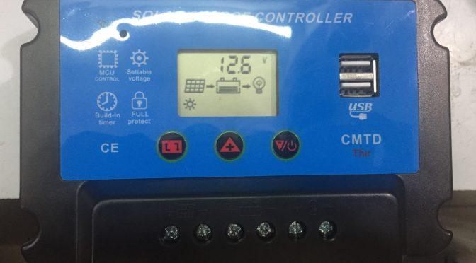 bộ điều khiển sạc solar charger controller 12v