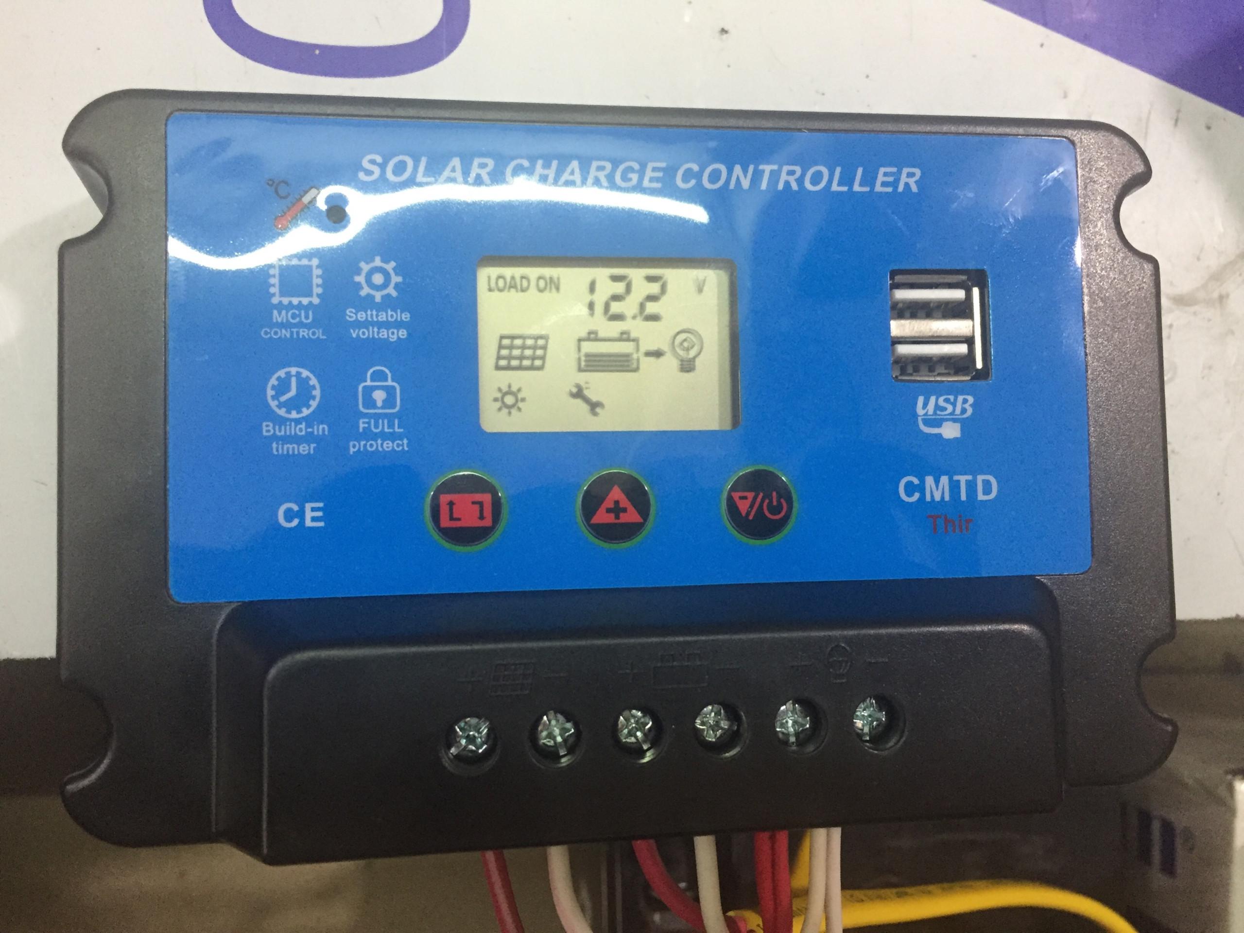 bộ điều khiển sạc solar charger controller