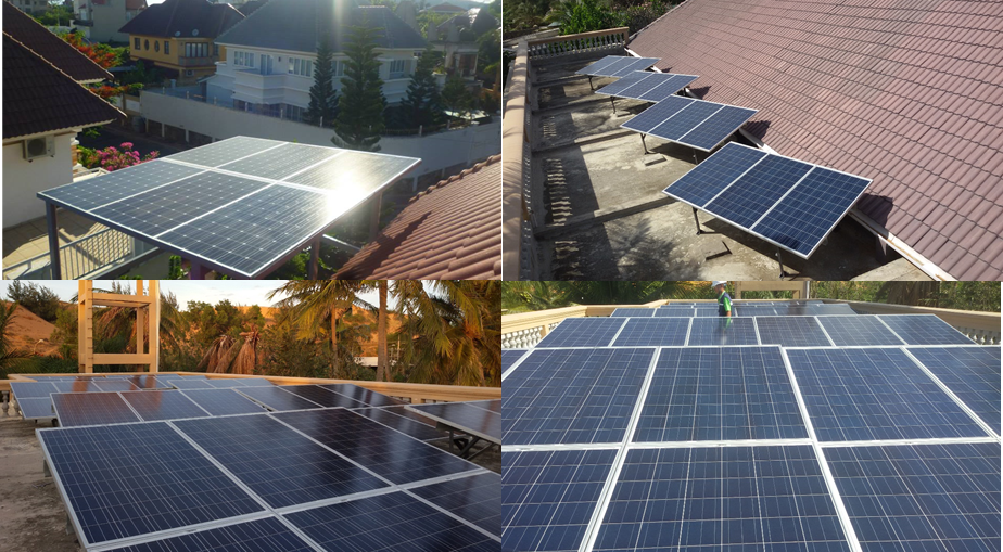 Ứng dụng thực tế điện mặt trời trong đời sống
