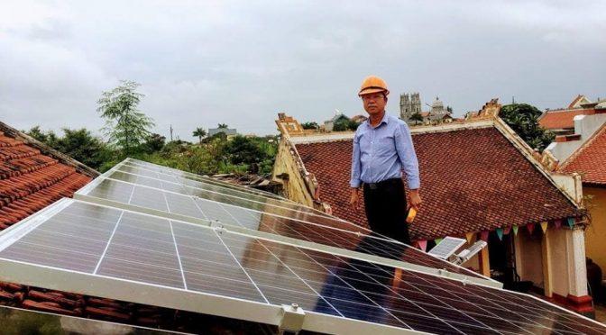 Điện năng lượng mặt trời cho hộ gia đình Thái Bình