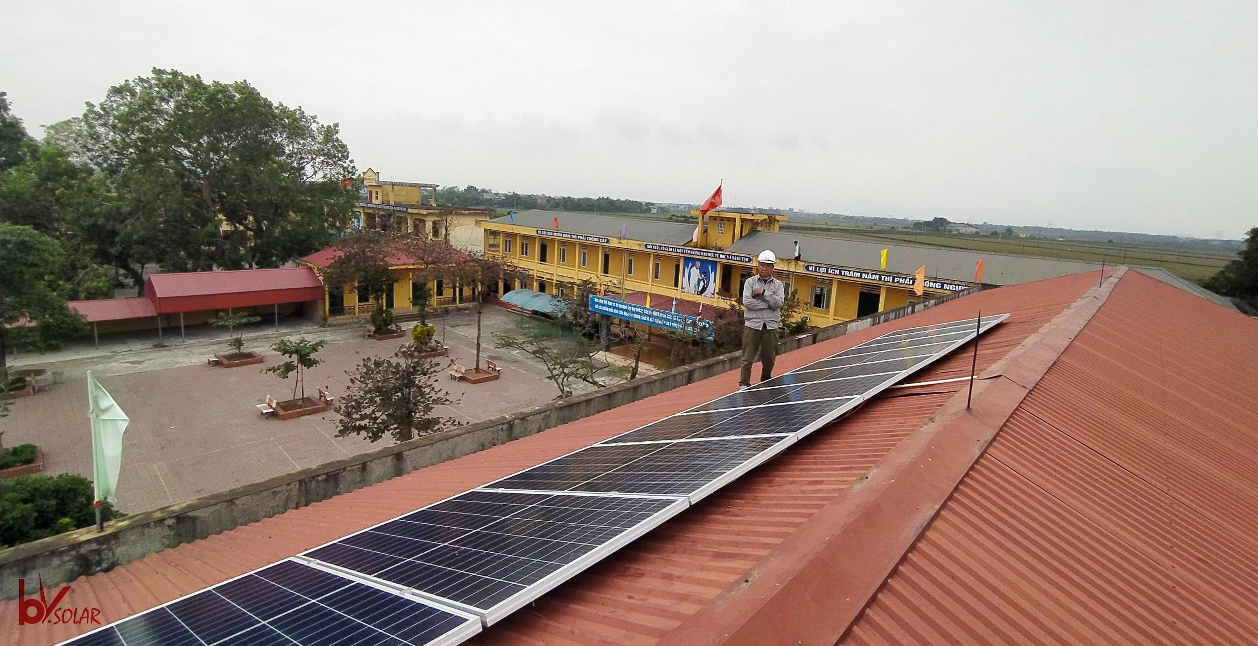 điện mặt trời Thái Bình