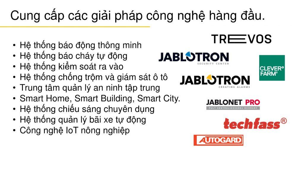 Jablotron - Giải pháp công nghệ
